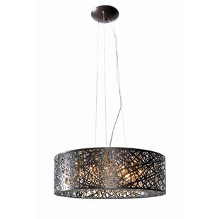 Zipcode Design Mica 9-Light Drum Pendant