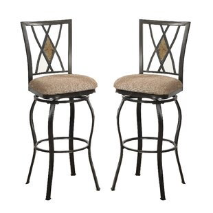 Callaghan 29 Swivel Bar Stool (Set of 2) by Fleur De Lis Living