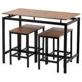 Aathan 5 - Piece Counter Height Dining Set by Ebern Designs