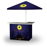 Wlikerson Halloween Full Moon 2-Piece Home Bar Set