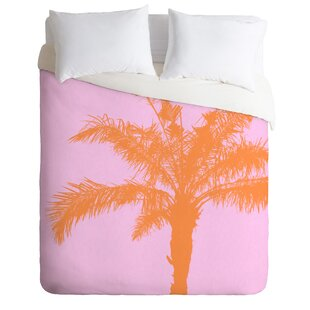 East Urban Home Deb Haugen Palm Duvet Cover Set