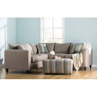 Allyn Sectional by Beachcrest Home Modern