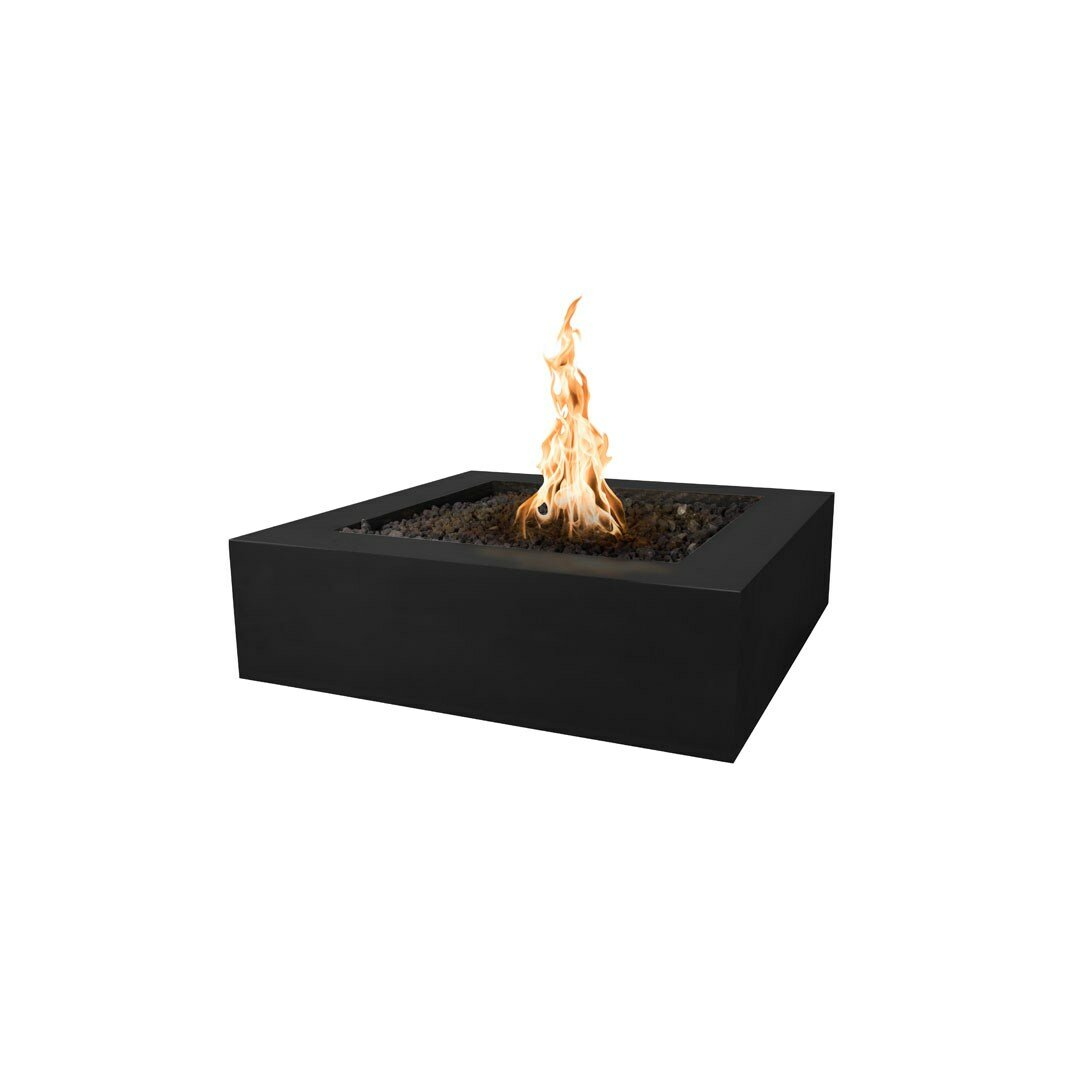 The Outdoor Plus Quad Concrete Propane Natural Gas Fire Pit Reviews Wayfair