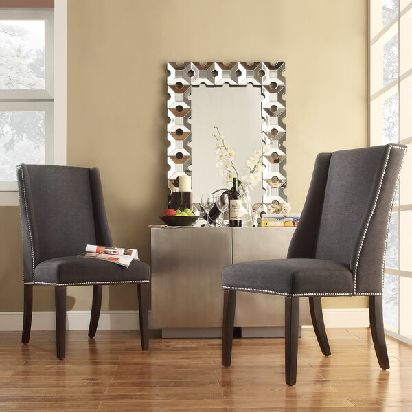 Dining Chairs Chicago: Three Posts Chicago Wingback Parsons Chair & Reviews