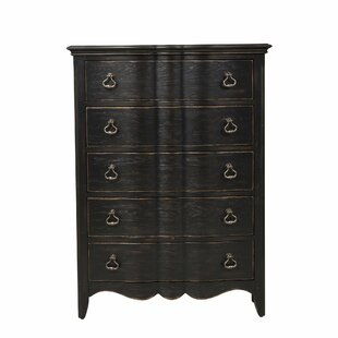 Gracie Oaks Claridge 5 Drawer Chest