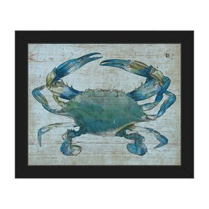 'Crab' Framed Graphic Art