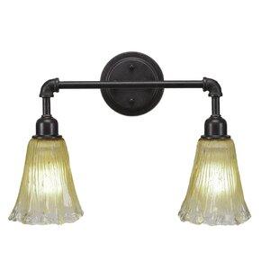 Charlton Home Rella Vintage 2-Light Vanity Light