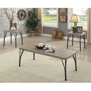 Boren 3 Piece Coffee Table Set (Set of 3)