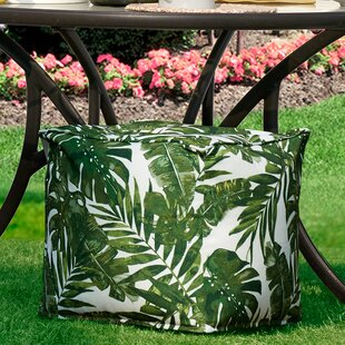 Allyson 3M Scotchgard Outdoor Pouf by Mistana