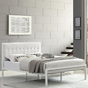 Read Reviews Millie Upholstered Platform Bed by Modway Reviews (2019) & Buyer's Guide