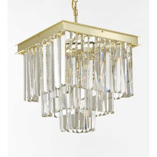 Shop For Larrick 4-Light Chandelier By Rosdorf Park