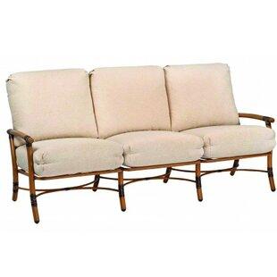 Woodard Glade Isle Sofa with Cushions