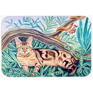 Cat Maine Coon Kitchen/Bath Mat