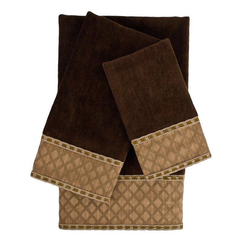 Take a look at this Gray Carmen Four-Piece Comforter Set ... |Deluca Comforter Set
