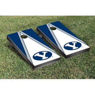 Victory Tailgate NCAA Triangle Version 2 Cornhole Game Set