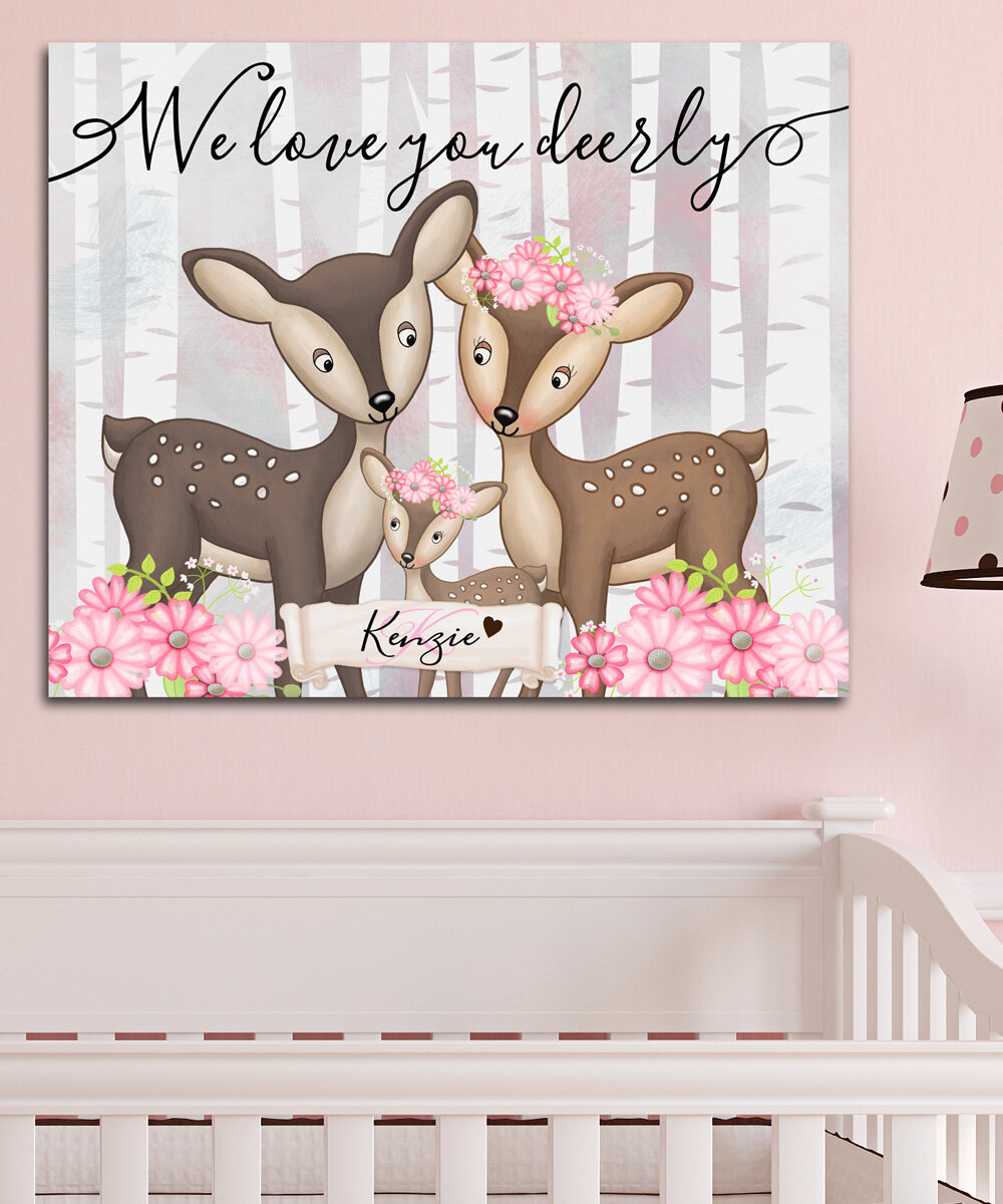 Toad And Lily Personalized Baby Nursery