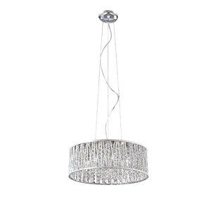 House of Hampton Longchamps 7-Light Crystal Chandelier