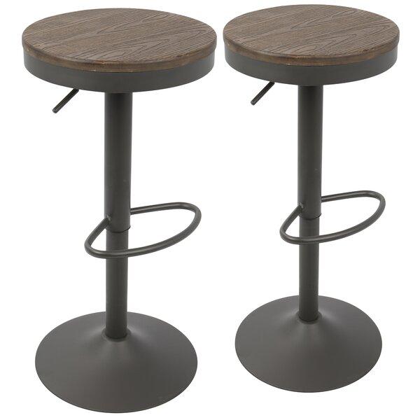 Outstanding Modern Contemporary Wrought Iron Bar Stool Allmodern Inzonedesignstudio Interior Chair Design Inzonedesignstudiocom
