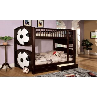 Aiden Twin Bunk Bed with Storage by Zoomie Kids