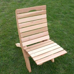 Cedar Furniture and Accessories Beach Chair