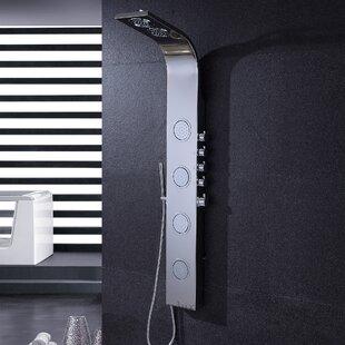 Luxier Pressure Balanced Massage Tower Shower Panel