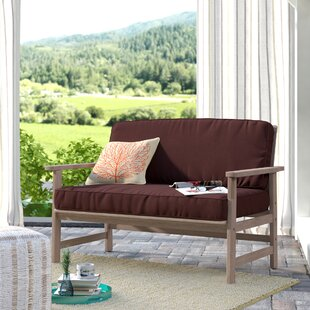 Englewood Patio Sofa with Cushions by Beachcrest Home