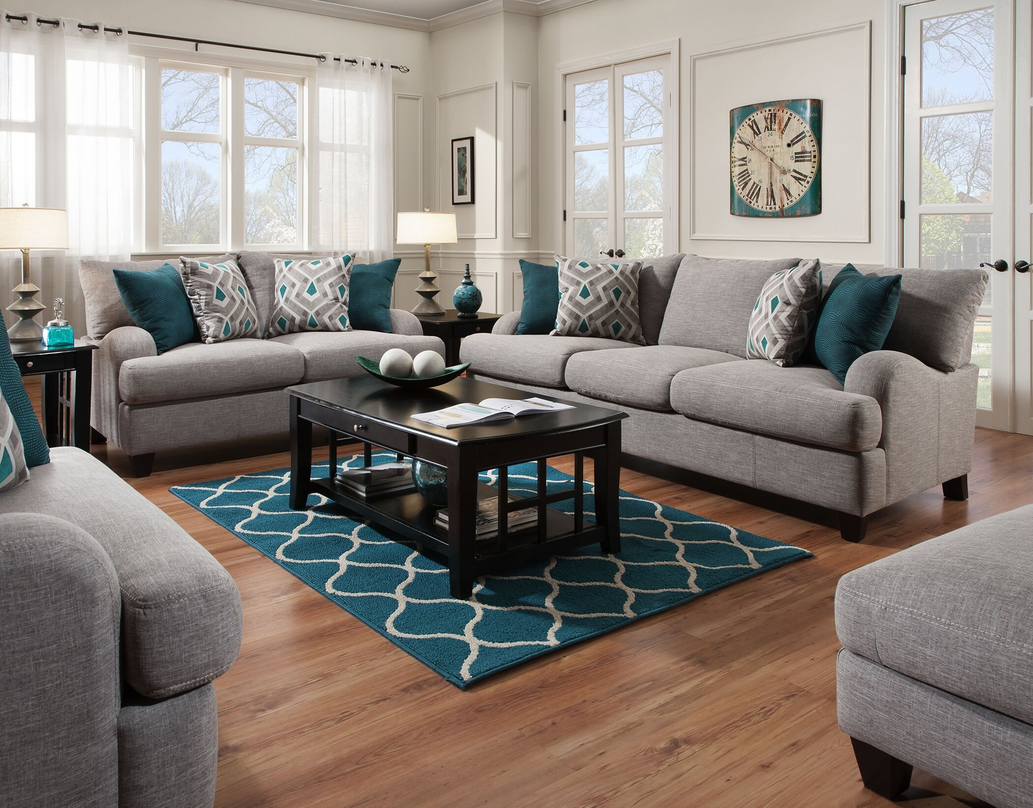 Rosalie 12 Piece Living Room Set