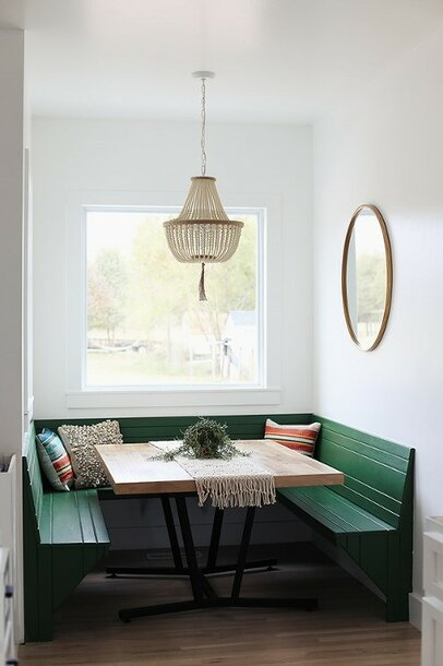 Eclectic Dining Room Design