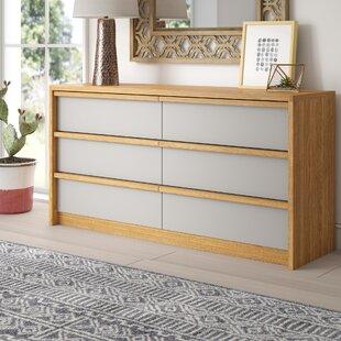 Mistana Laszlo 6 Drawer Double Dresser