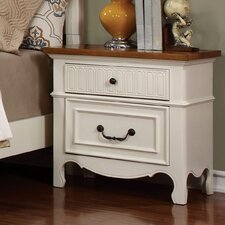 Jefferson 2 Drawer Nightstand by Andover Mills