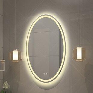 Bode Back Lit LED Bathroom Mirror By Orren Ellis