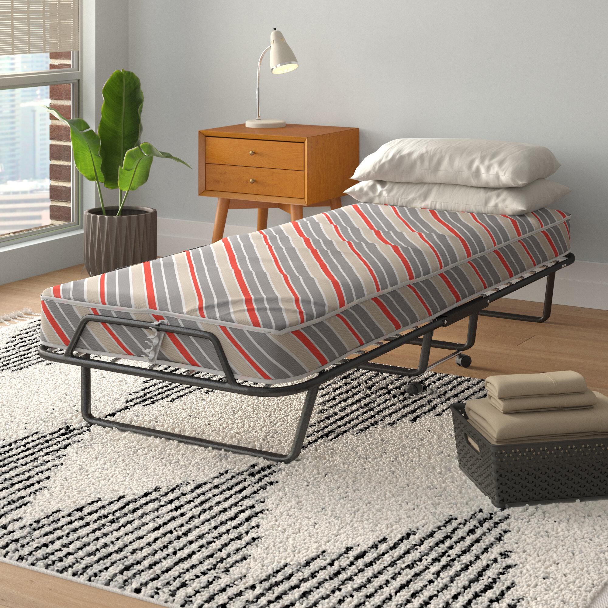 - Alwyn Home Arely Black Folding Bed & Reviews Wayfair