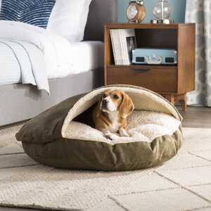 Christal Luxury Hooded Pet Bed