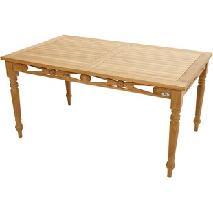 Yorkton Teak Dining Table By Sol 72 Outdoor