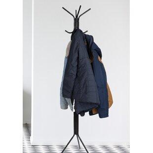 Which Freestanding Coat Rack Is Best For Home Orren Ellis Faulkland Metal 12 Hook Freestanding Coat Rack