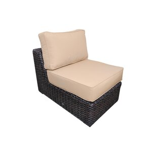 Santa Monica Armless Chair with Cushions