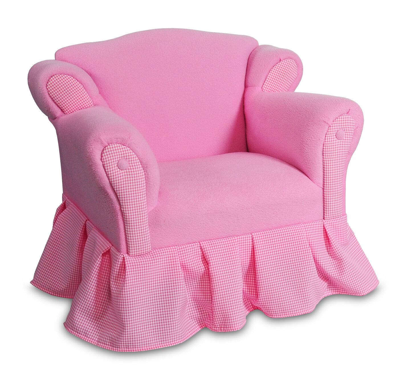 Delicieux Keet Princess Kids Cotton Club Chair U0026 Reviews | Wayfair