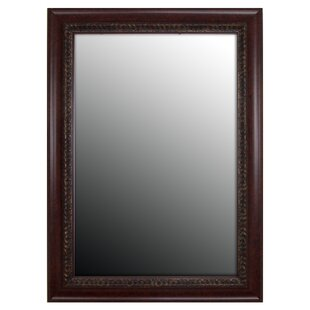 Second Look Mirrors Birds Eye Cherry Accents Wall Mirror