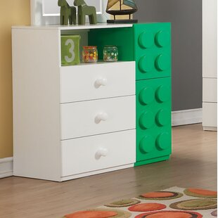 Inexpensive Hymes 3 Drawer Dresser by Zoomie Kids Reviews (2019) & Buyer's Guide
