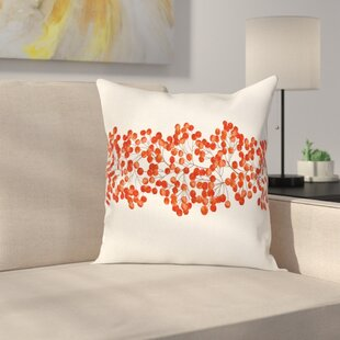Wild Mountain Ashes Square Pillow Cover