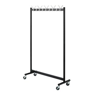 Arrian 103cm Wide Clothes Rack By Ebern Designs