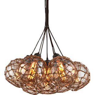 Rabin 7-Light Cluster Pendant by Bayou Breeze