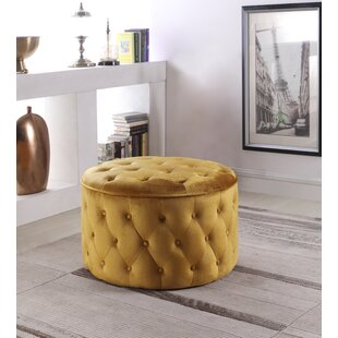 Pederson Tufted Cocktail Ottoman by House of Hampton
