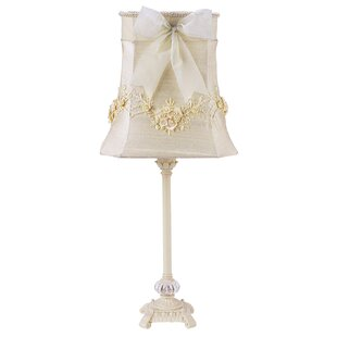 Scroll Glass Ball 23.5 Table Lamp