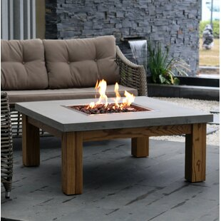 Elementi Amish Wood Fire Pit Table