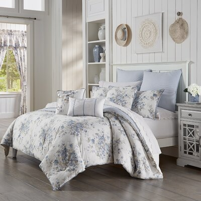 Mclean Comforter Set Ophelia & Co. Size: King Comforter + 2 Shams