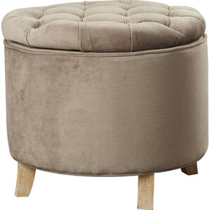 Compson King Upholstered Ottoman by House of..
