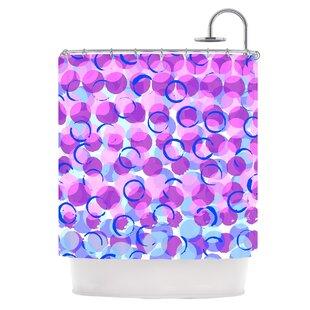 Dotty Single Shower Curtain