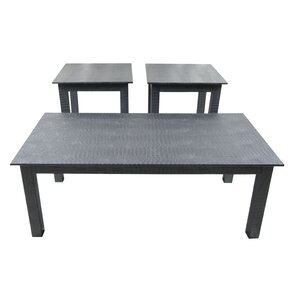 Veronica 3 Piece Coffee Table Set