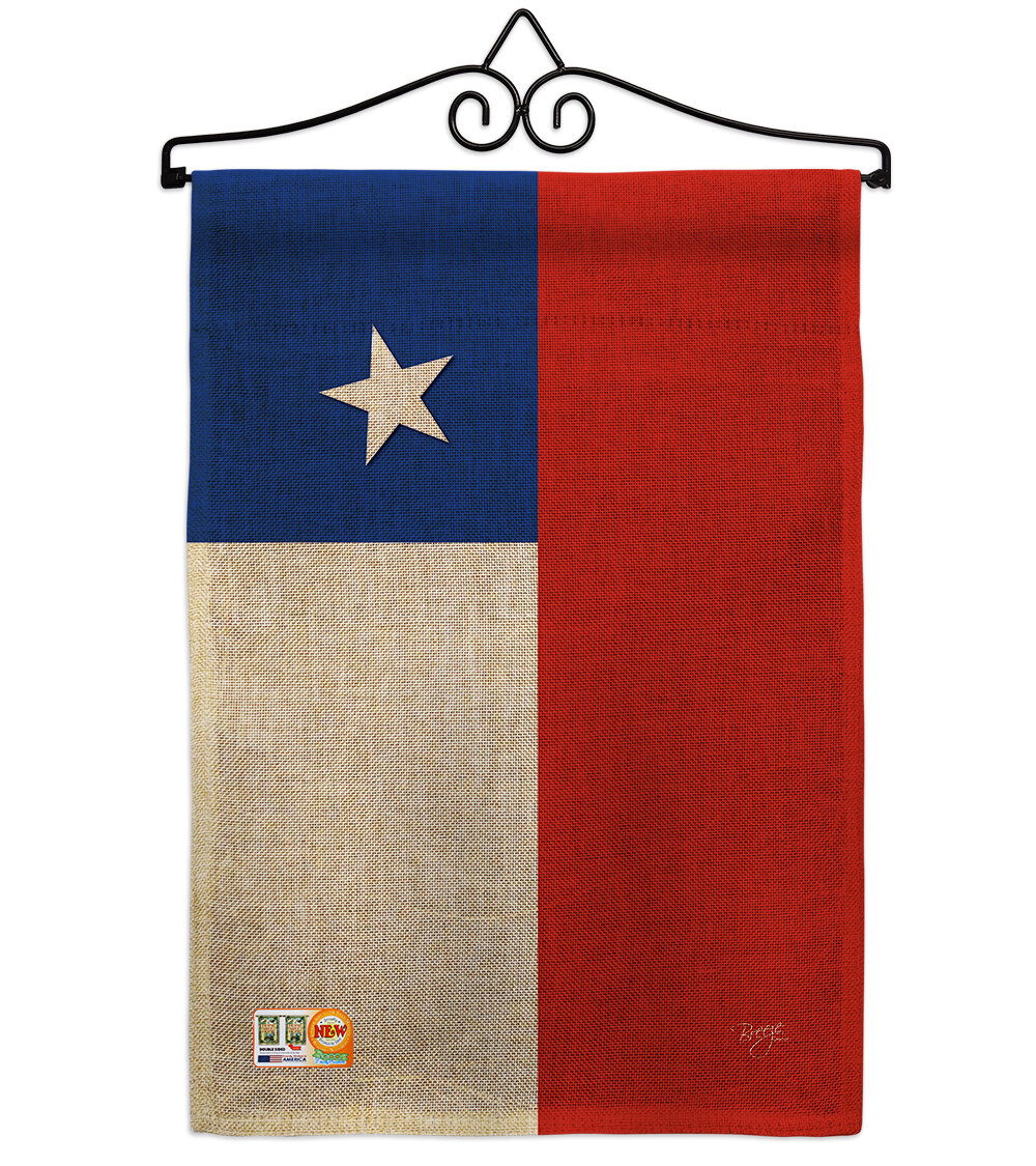 Breeze Decor Chile Of The World 2 Sided Burlap 19 X 13 In Flag Set Wayfair